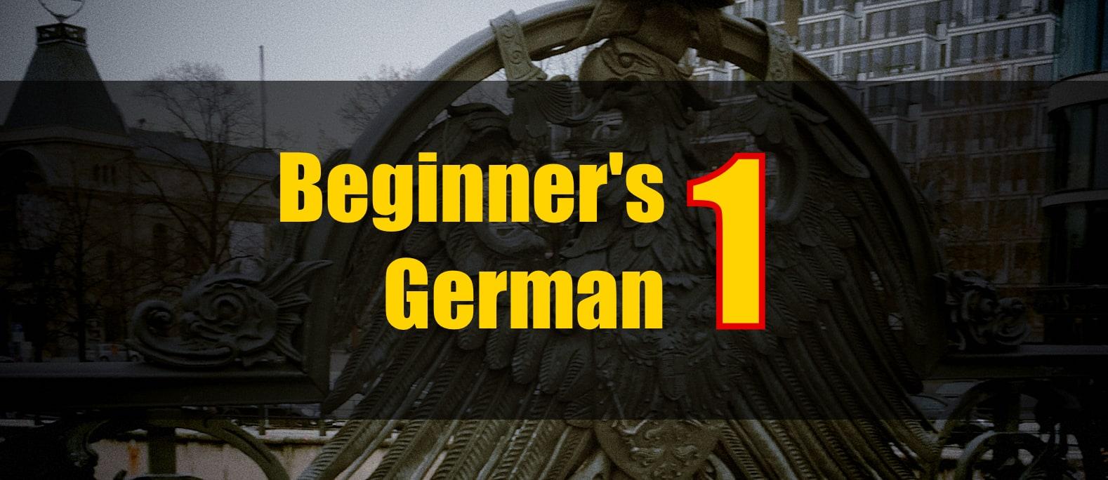 Beginner's German 1